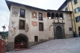 Facciata Est del Palazzo del Comune di Clusone