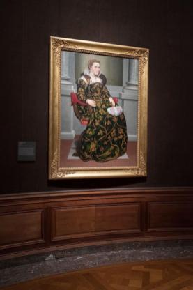 Isotta Brembati appesa alla Frick Gallery di New York