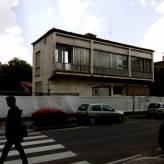 Casa Trussardi in via Diaz prima della demolizione