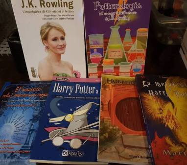 materiali editoriali su Harry Potter
