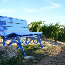 Panchina Gigante blu