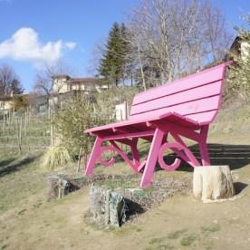 Panchina Gigante Rosa