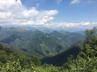 Dal Monte Poieto il panorama