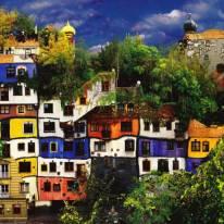 Casa colorata a Vienna