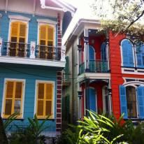 Casette colorate a Hew Orleans