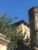 Il torrione e il mastio del Castello Camozzi Vertova