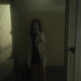 Raffi Garofalo allo specchio a Villa Astori
