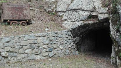 Ingresso della Miniera Foghera di Oneta