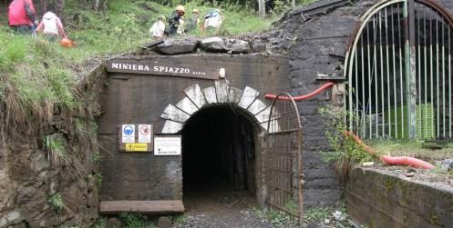 Ingresso delle Miniere di Schilpario