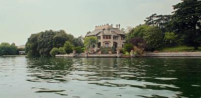 Villa Faccanoni dal lago