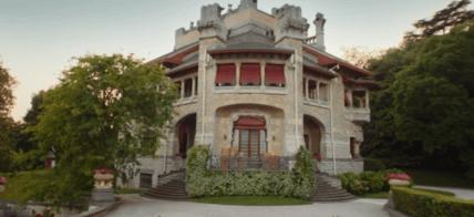 Villa Faccanoni in avvicinamento