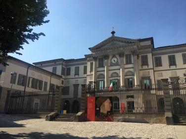 Accademia Carrara di giorno