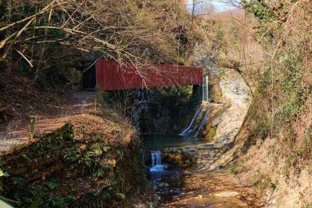 3 passerelle Parco di Luzzana