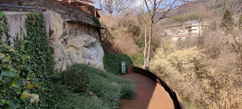 Parco del gigante di Luzzana 5 terrazza
