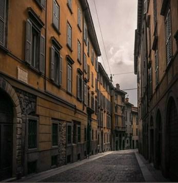 Via San Giacomo di Bergamo