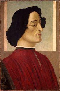 Giuliano de Medici del Botticelli a Bergamo