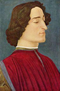 Giuliano de Medici del Botticelli a Berlino