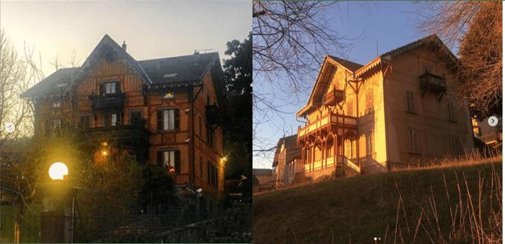 Villa Lovere e Villa gemella di Bossico