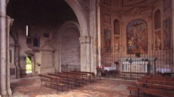 Interno/esterno Basilica di Santa Giulia Bonate Sotto