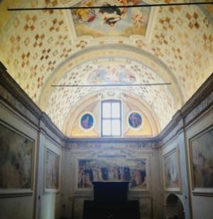 Interno della chiesa del Santo Sepolcro Monastero di Astino