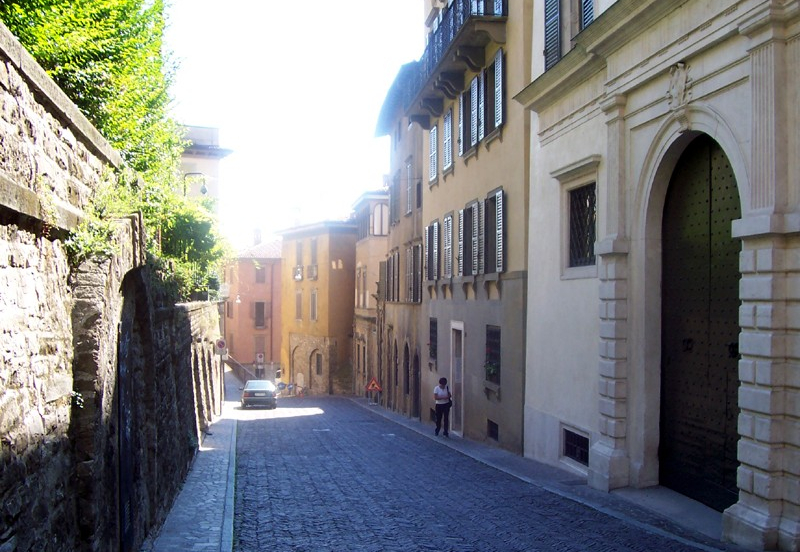 Via Porta Dipinta Bergamo