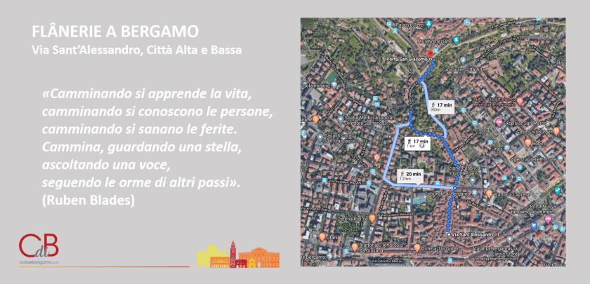 Via Sant'Alessandro - flanerie