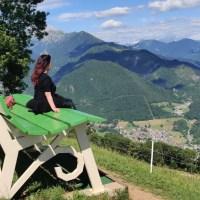 Gite fuori porta: verso la Panchina Gigante di Parre sul Monte Alino in Val Seriana