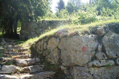 scalinata sinistra Muraglioni di ca Marta