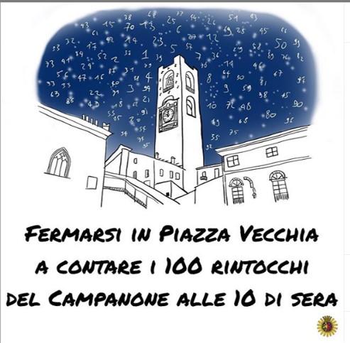 campanone disegnato da BergamoSchizzata