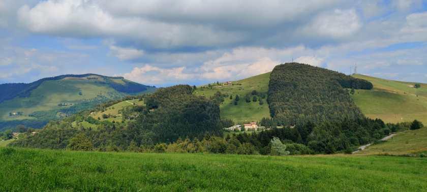 Il panorama da Colli di San Fermo