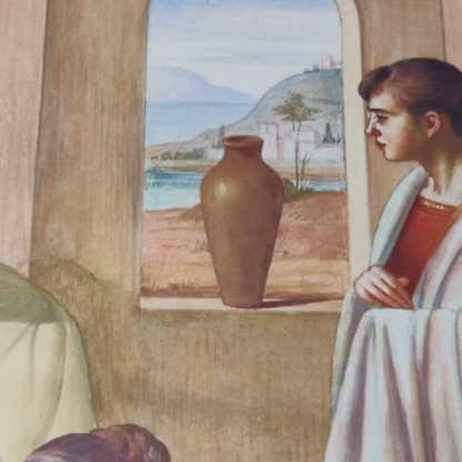 Particolare affresco santuario della Madonna di Prada