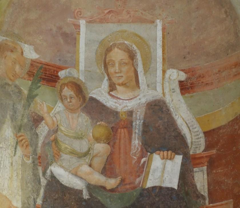 Madonna della Fonte miracolosa al Santuario della Madonna di Prada