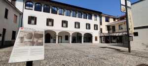 Museo Cavellas o Museo della Val Cavallina dal cortile