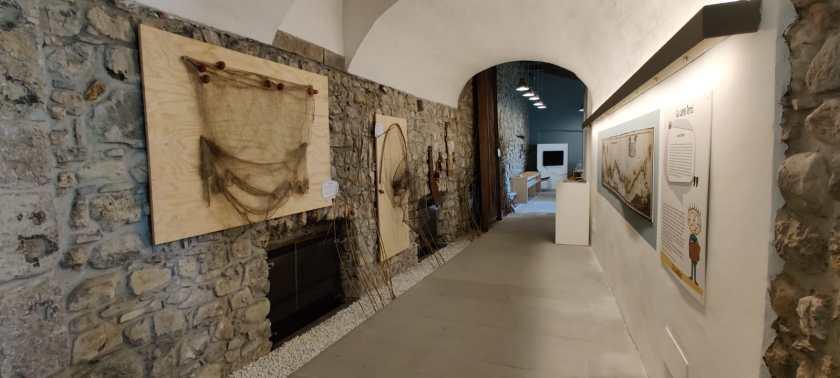 3 Sala del museo dedicata all'acqua e alla pesca