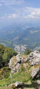 Sperone roccia sul Monte Zucco