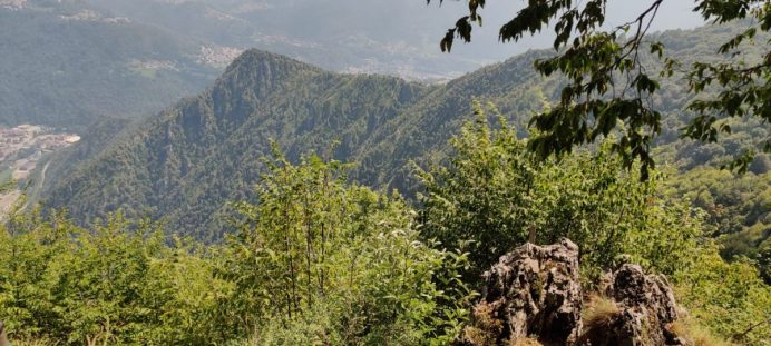 Ultima sul Monte Zucco prima della Croce