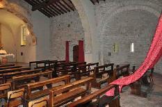 San Pietro in vincoli abside lasterale visto da dentro