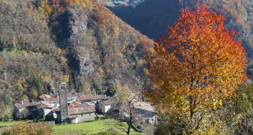 Val Brembana in autunno copertina