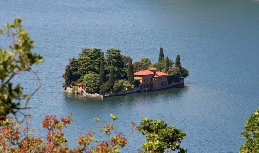 isola di San Paolo Lago Iseo