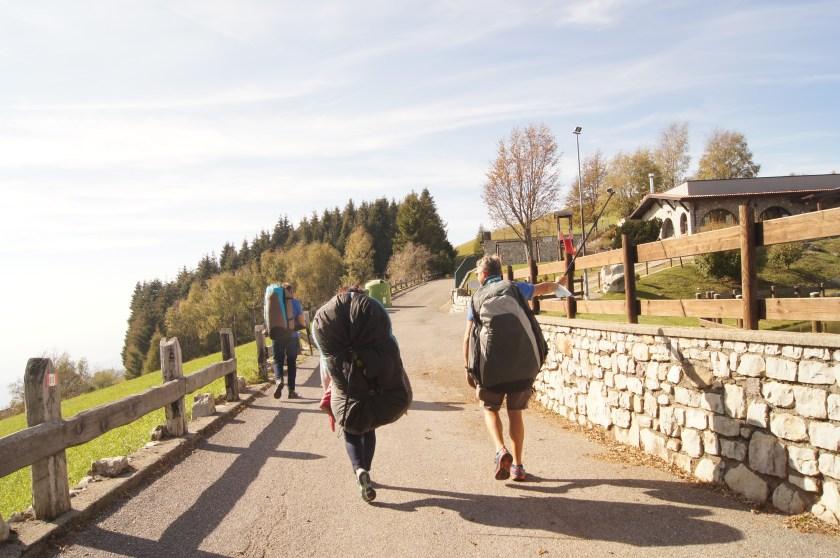 Raffi Garofalo e Libero Peluchetti si avviano sul Campo di Decollo
