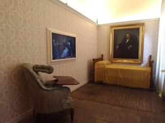 Museo Donizettiano camera da letto di Gaetano Donizetti