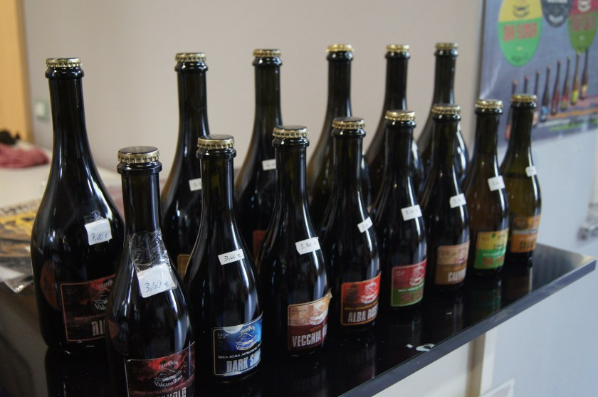 bottiglie birra artigianale Birrificio Valcavallina in vendita