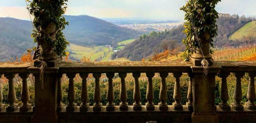 Terrazza affacciata su valle monte Argon