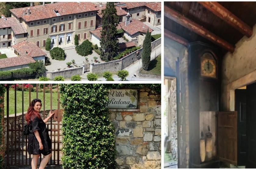 Villa Redona e orologio monolancetta