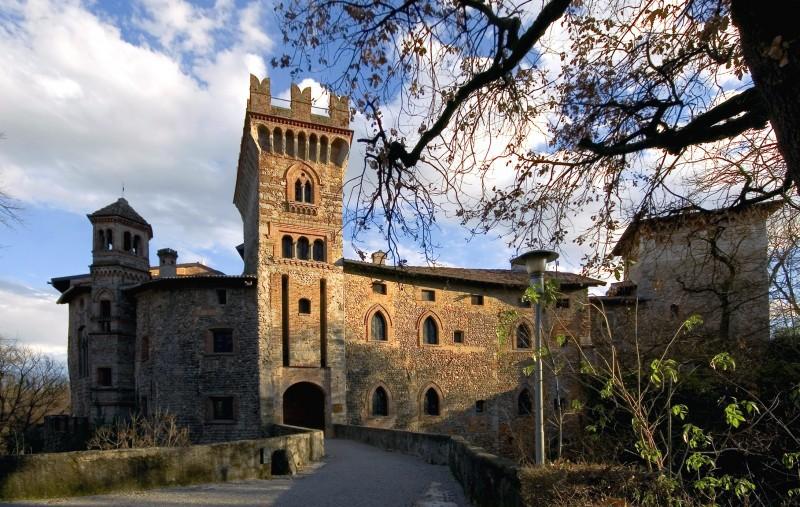 castello di Marne Baciare in provincia di Bergamo