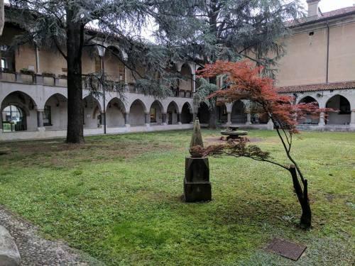 biblioteca Treviglio chiostro