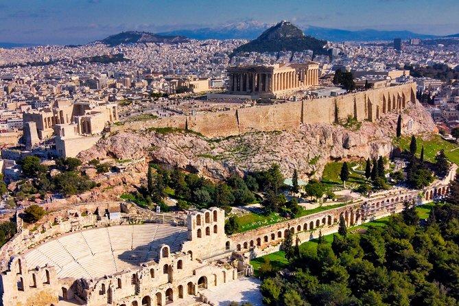 Atene città su sette colli