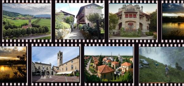 Copertina Famolo strano Film girati a Bergamo e provincia