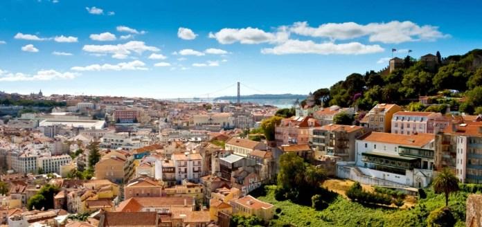 Lisbona città su sette colli