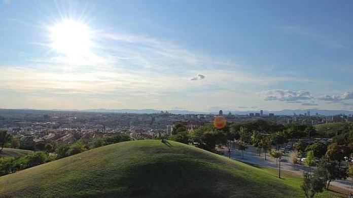 Madrid parco delle sette tette